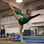 Clay Gymnast Places in Top Ten at First Meet