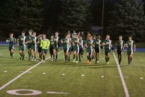 Varsity boys soccer District quarter-final vs. St. Francis 10-21-15