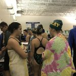 Girls Varsity Swimming falls to Springfield Local 72 – 64