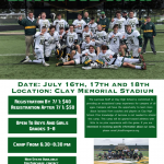 5 Days Left to Save on the Clay Lacrosse Camp!