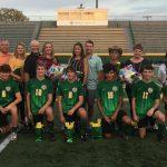 Men's Soccer Team Senior Night