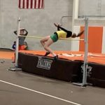 Indoor Track Competes at BGSU