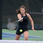 Valley girls' tennis player
