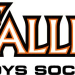 Valley Boys' Soccer Collecting Equipment for WDMCS Students