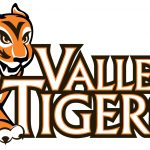 Valley Tigers wordmark with tiger