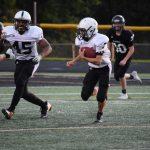 Valley freshman football against Southeast Polk