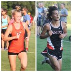Valley cross country runners