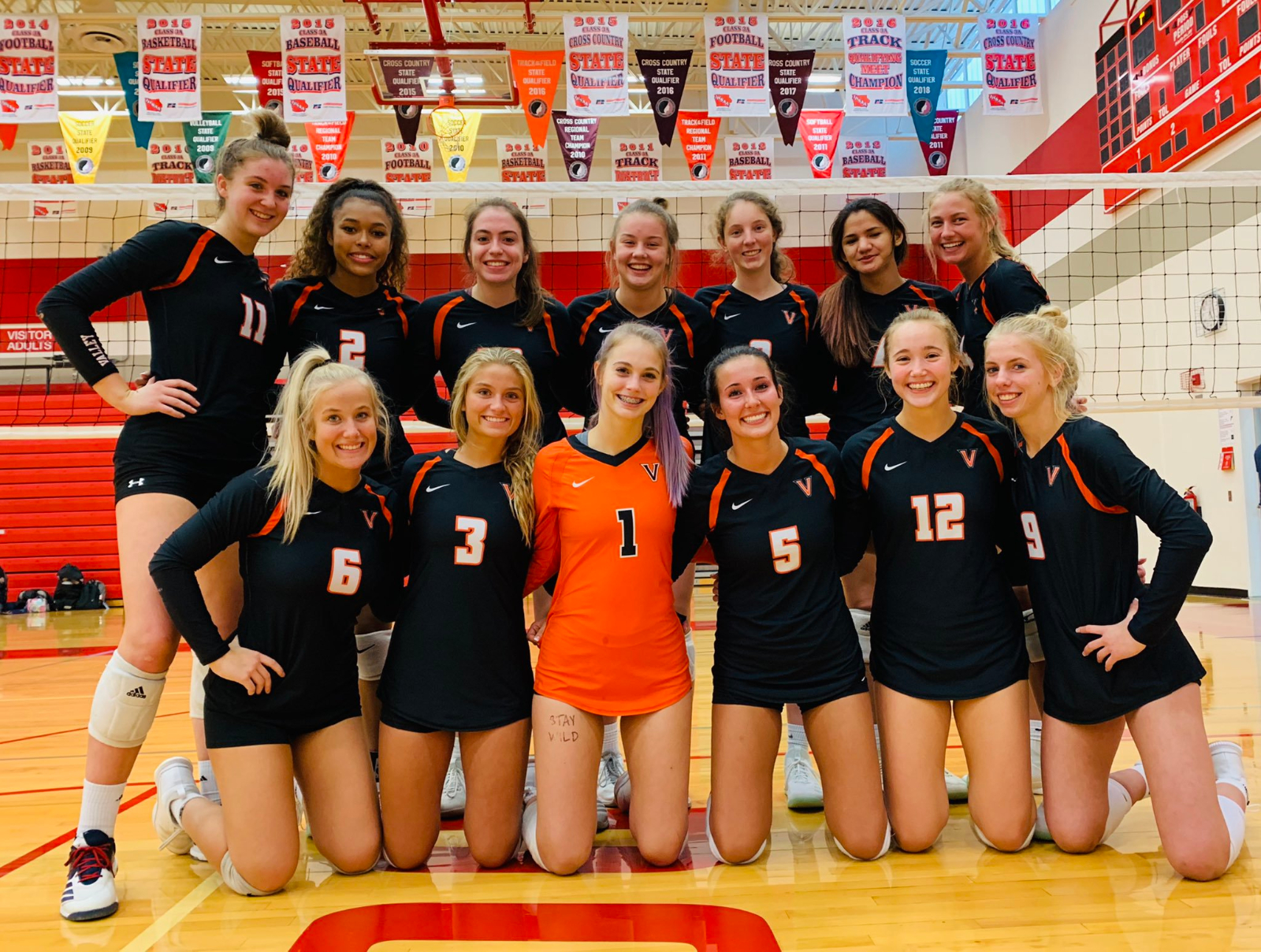 No. 3 Valley Sweeps Southeast Polk, 3-0