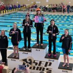 Valley Girls' Swimming at Regionals