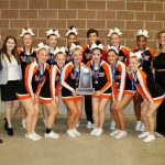 Valley competition cheer at state 2019
