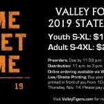 Graphic for Valley State Football Shirts