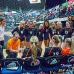 Valley Volleyball at State vs. Dowling