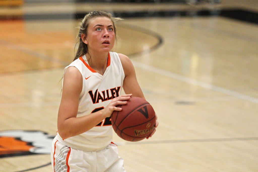 Valley girls' basketball player Alex Honnold