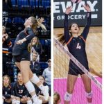 Volleyball-All-State-Kubik and Curry