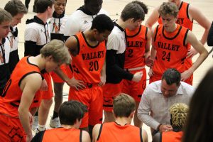Valley vs Southeast Polk boys' basketball photo