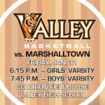 Valley Basketball's 'Elementary Night' Set For Jan. 31