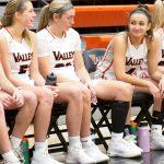Photo of Valley girls' basketball game vs. Marshalltown