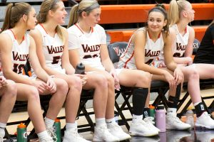 Photo of Valley girls' basketball game vs. Marshalltown