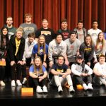 Valley student-athletes at National Signing Day 2020 celebration