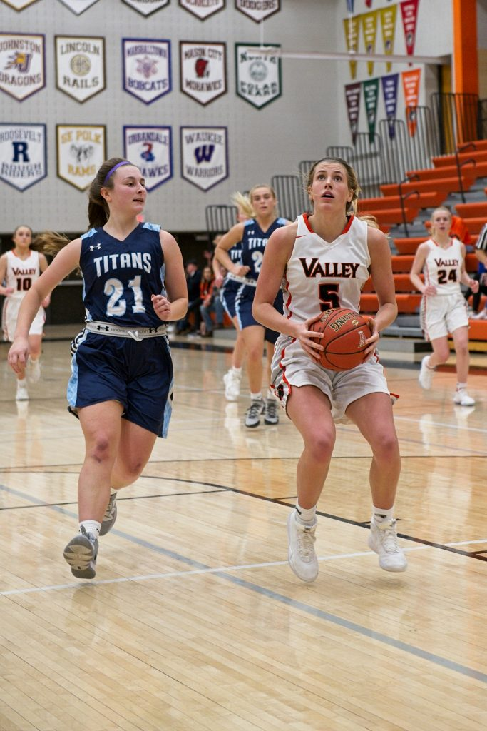 Valley Girls Basketball vs Lewis Central 2