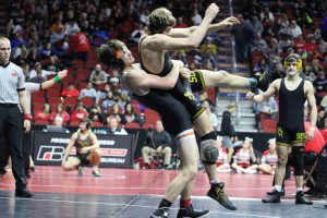 Photo of Valley Wrestling at 2020 state dual tournament