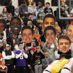 Photo from Valley boys' basketball vs. Des Moines Hoover game