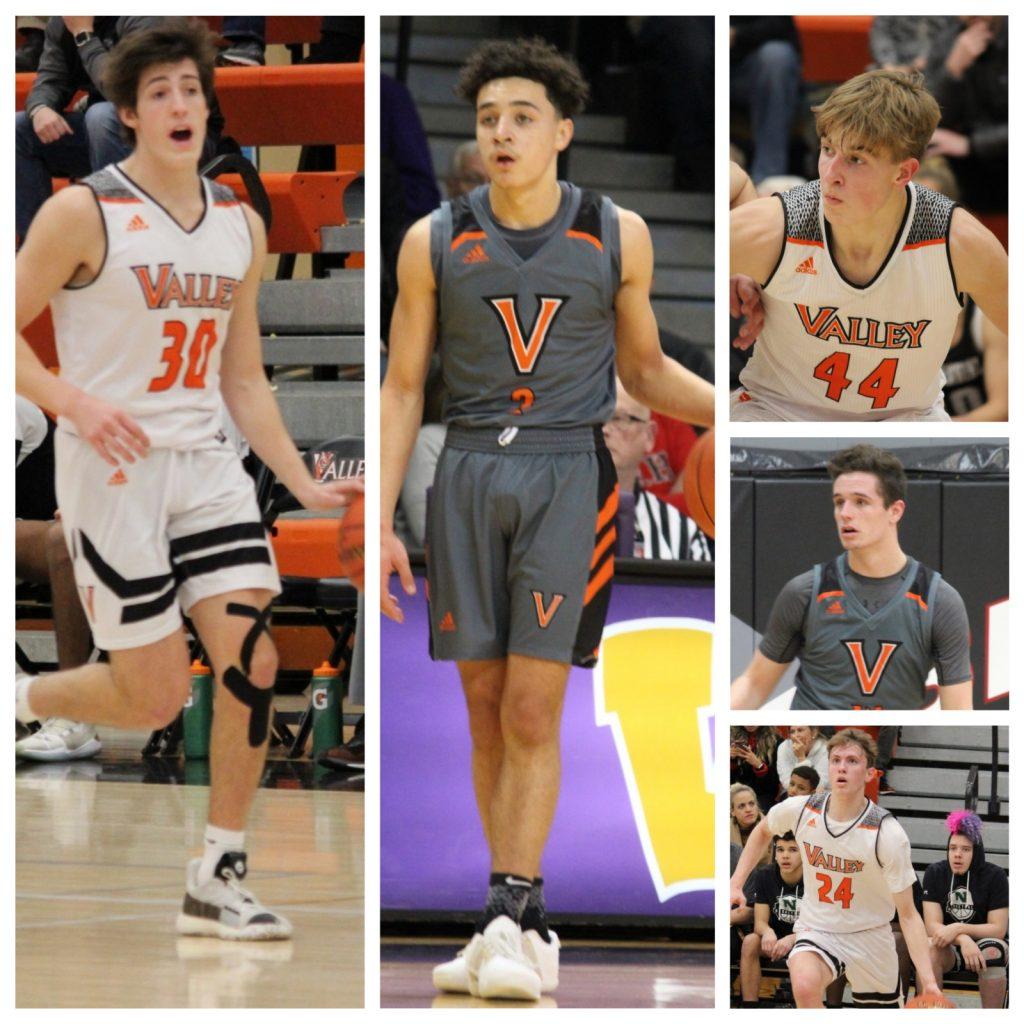Valley Boys Basketball All-Conference