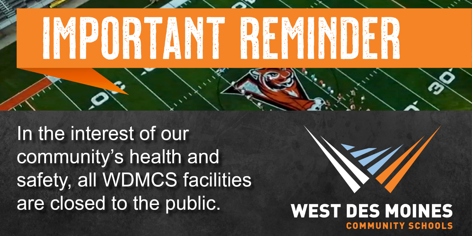 All WDMCS Facilities Closed To Public