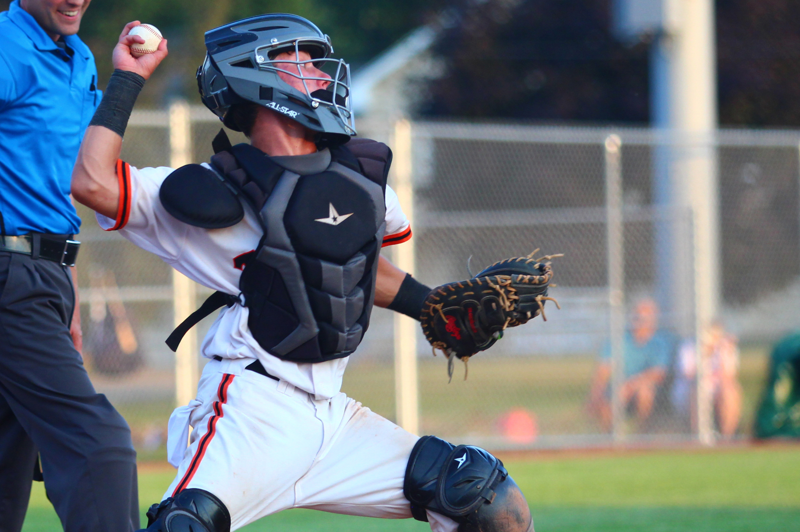 Photo from Valley vs Urbandale baseball game.