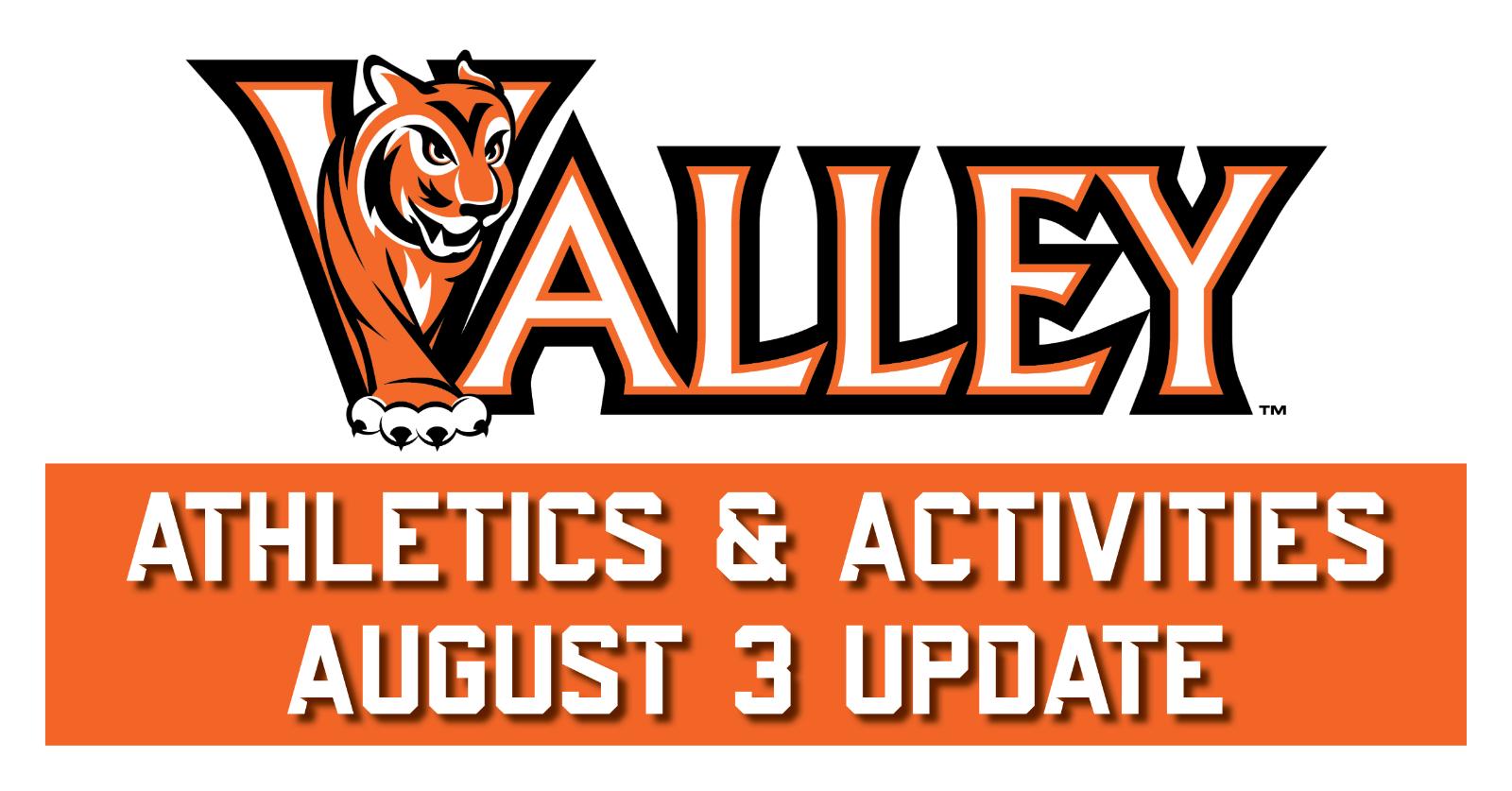 Valley Athletics & Activities Update