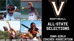 Valley Softball All-State