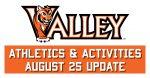 Valley Athletics Update