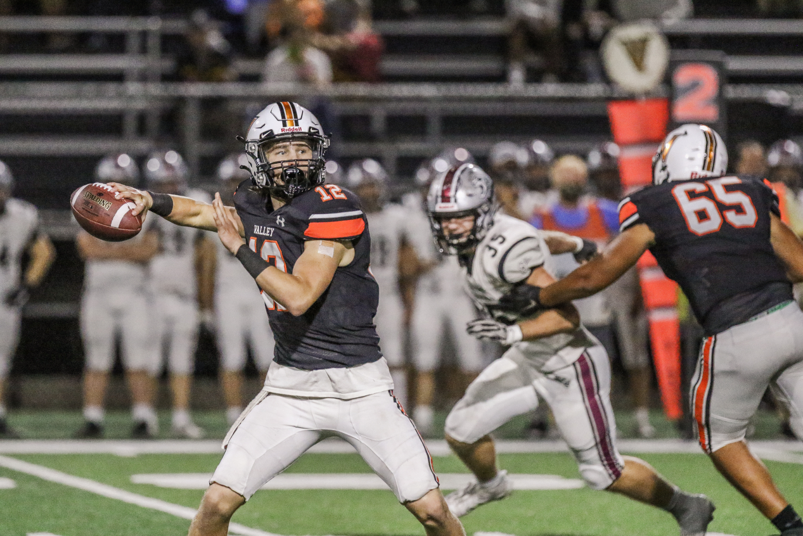 Playoff Football Friday: Valley vs. Urbandale