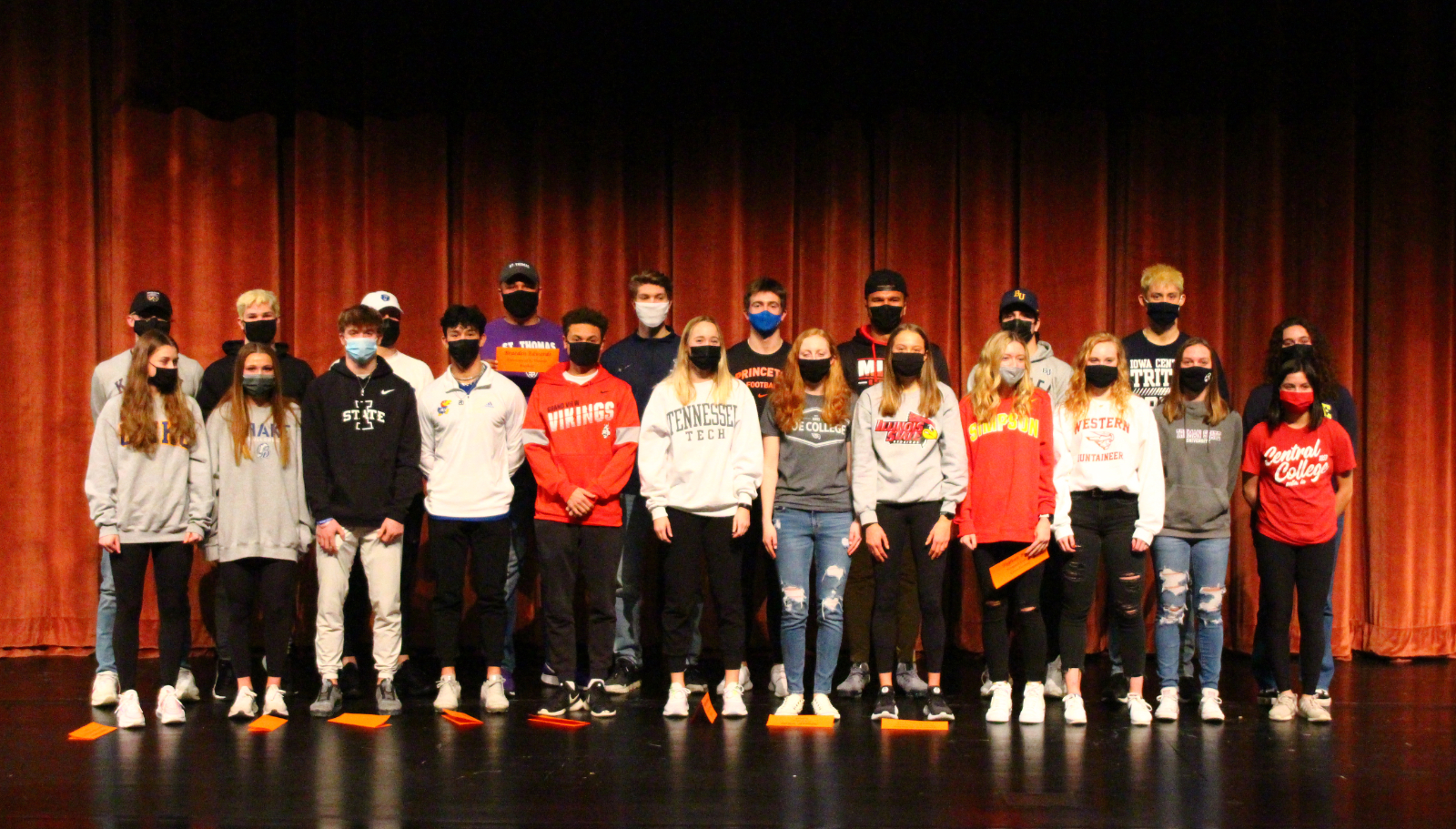 National Signing Day 2021 at Valley High School