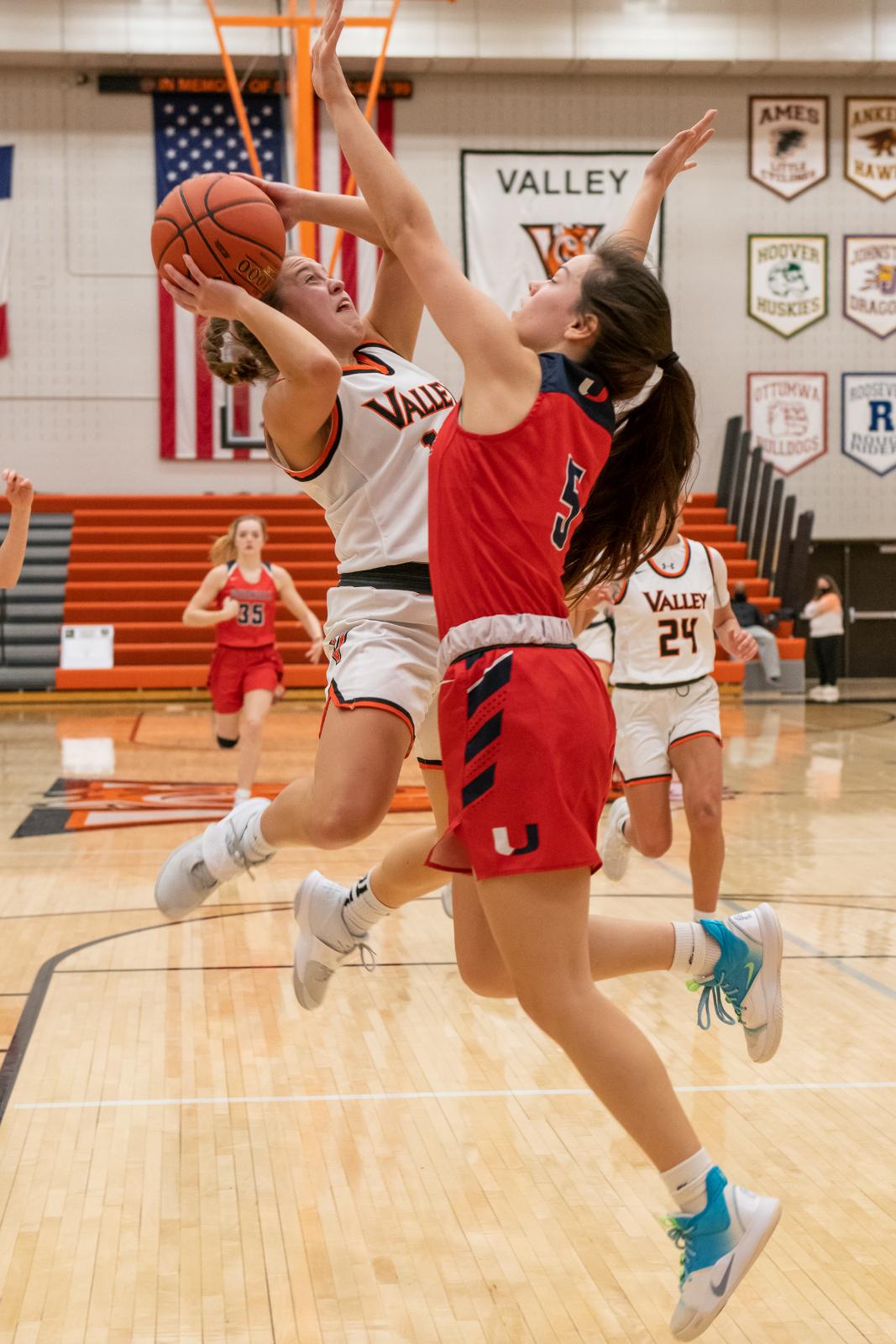 Valley vs. Urbandale varsity girls' basketball on Friday, Feb. 12, 2021.
