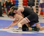 Photos: Valley Wrestling at District Meet — Courtesy of Kim Burrell