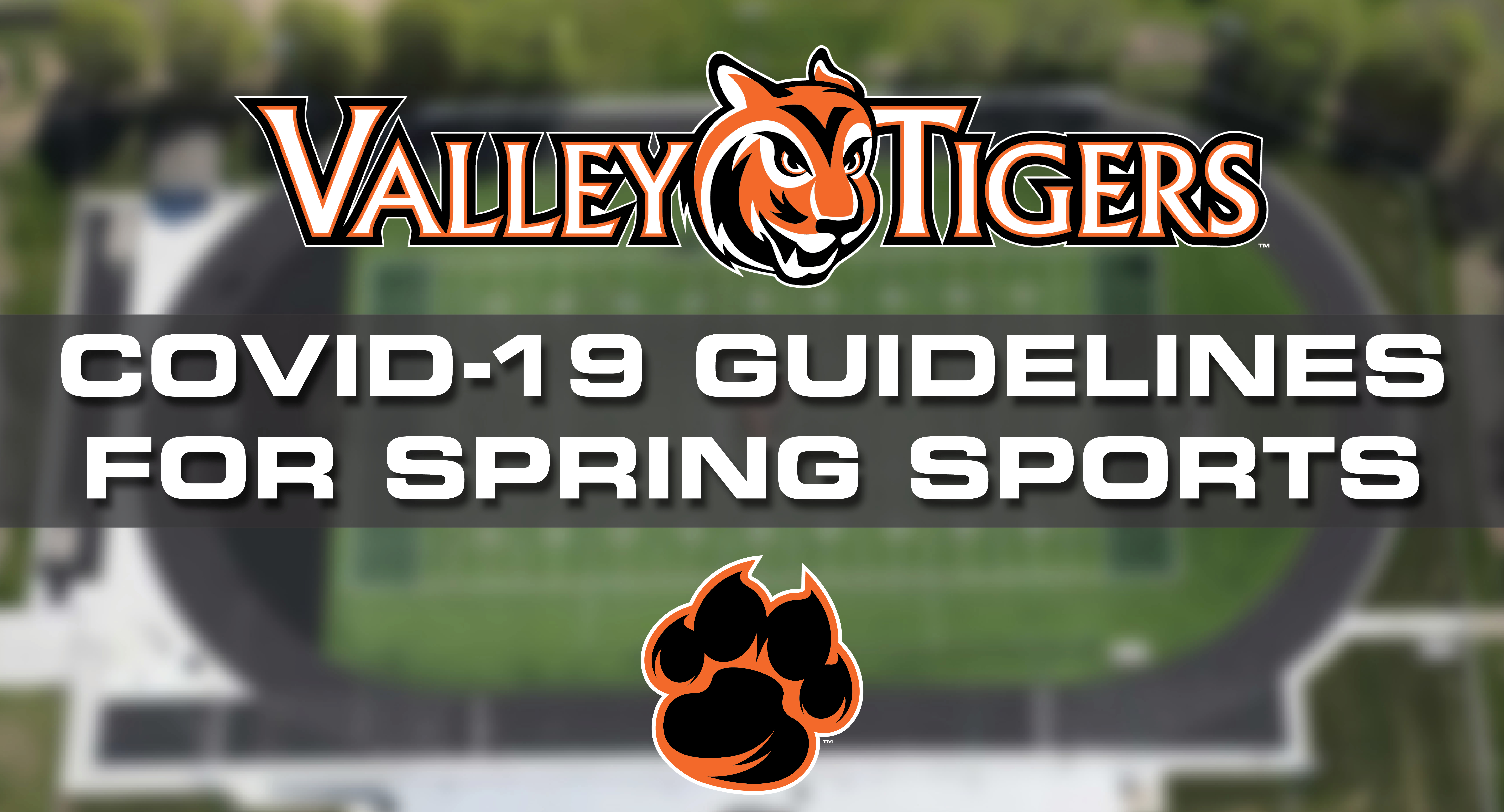 valley tigers covid-19 spring sports promo