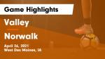 valley boys soccer norwalk game highlights