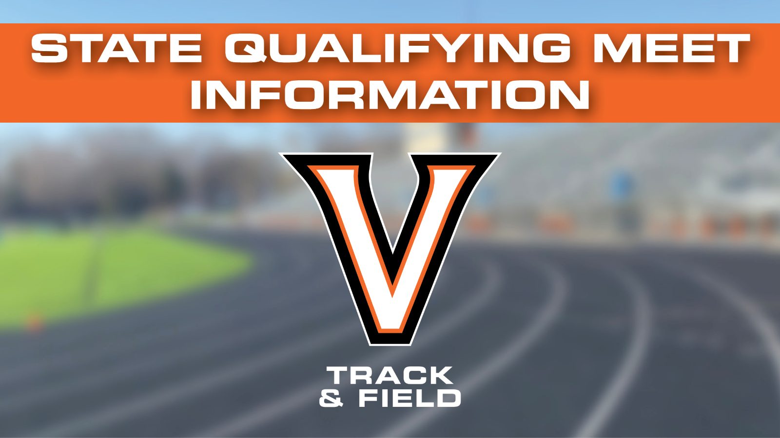 Information For Thursday's State Qualifying Meet
