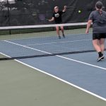Girls tennis does well at home dual