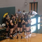 Fr Volleyball loses in Basehor