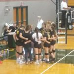 JV Volleyball loses in Basehor