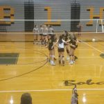 Varsity Volleyball loses in Basehor