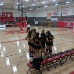 Fr Volleyball goes 2-1 at Burlington Quad
