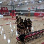 Fr Volleyball goes 2-1 at Burlington Quad
