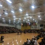 Homecoming District Homecoming Pep Rally underway!