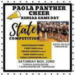 PHS Cheer – KSHSAA Game Day