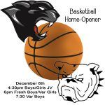 Program for 12/6 Basketball Home Opener
