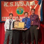 STATE CHAMPIONSHIP ALERT:  Paola Debate Claims Class 4A Championship