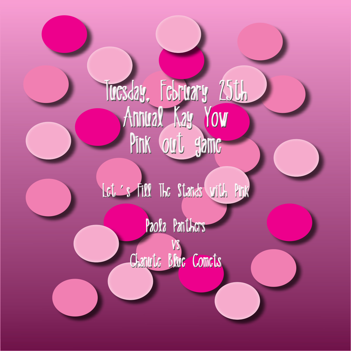 Wear Pink on February 25th